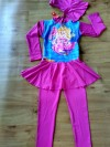 Baju anak perempuan Setelan Renang BENS COLLECTION (barbie the pearl princess)