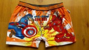 Celana anak laki laki Boxer JESSIE & MIKE (civil war captain america & iron man orange)