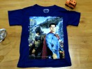 Baju anak laki laki Kaos GRIFFIN (superman vs batman biru)