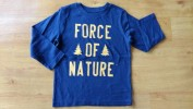 Baju anak laki laki Kaos BABY GAP (panjang force of nature)