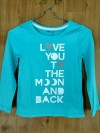 Baju anak perempuan Kaos GAP KIDS (tosca love you to the moon and back)