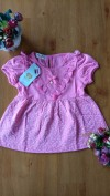 Baju anak perempuan Dress Import Fashion (pink)